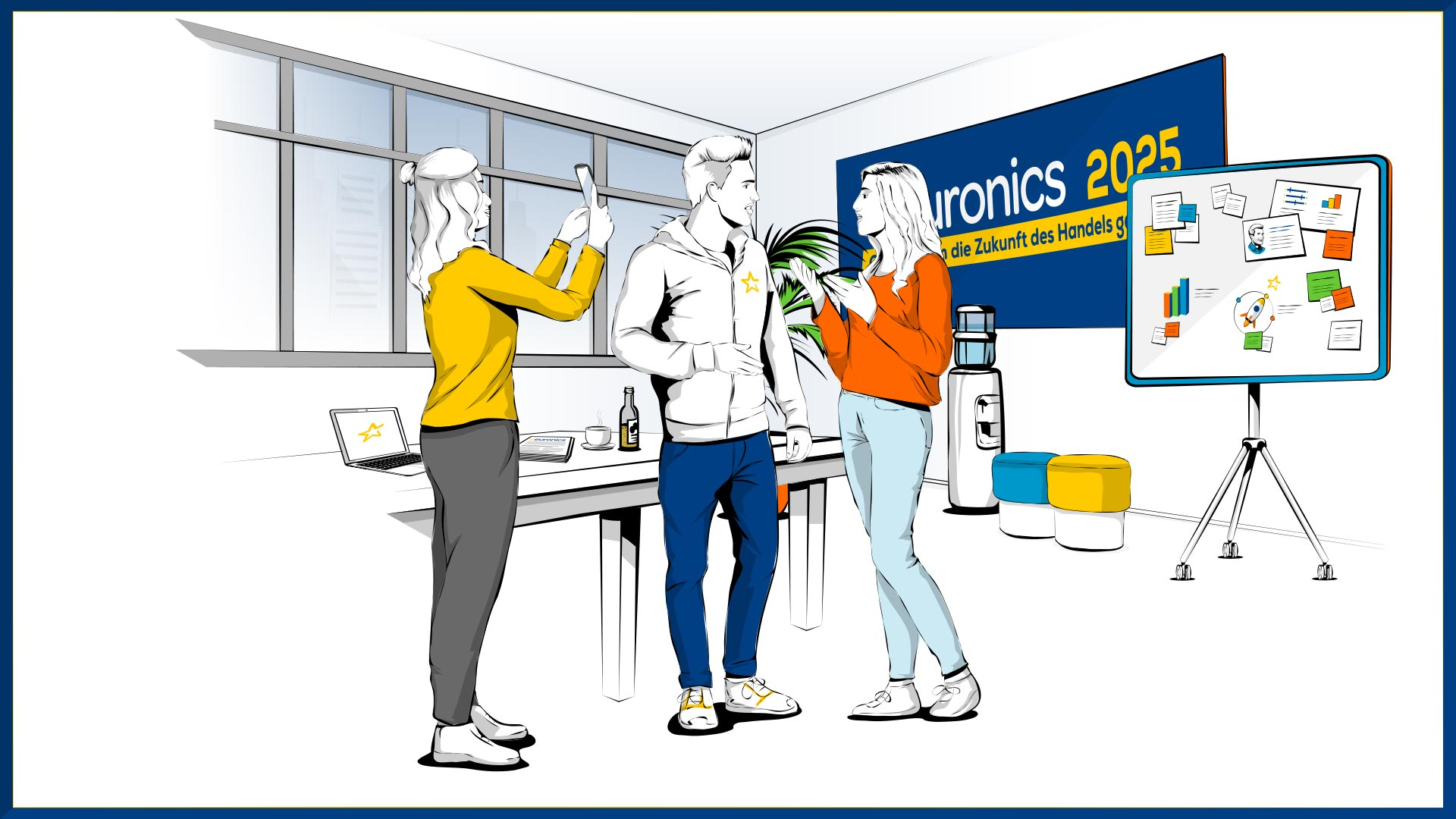 EURONICS Illustrationen