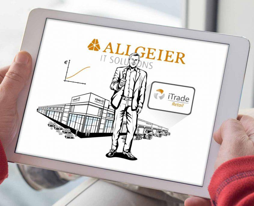 Allgeier IT Solutions iTrade Retail Infofilm