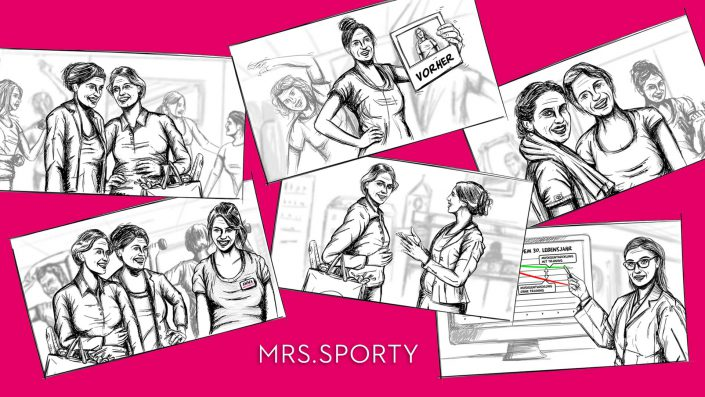 Mrs Sporty Scribbles
