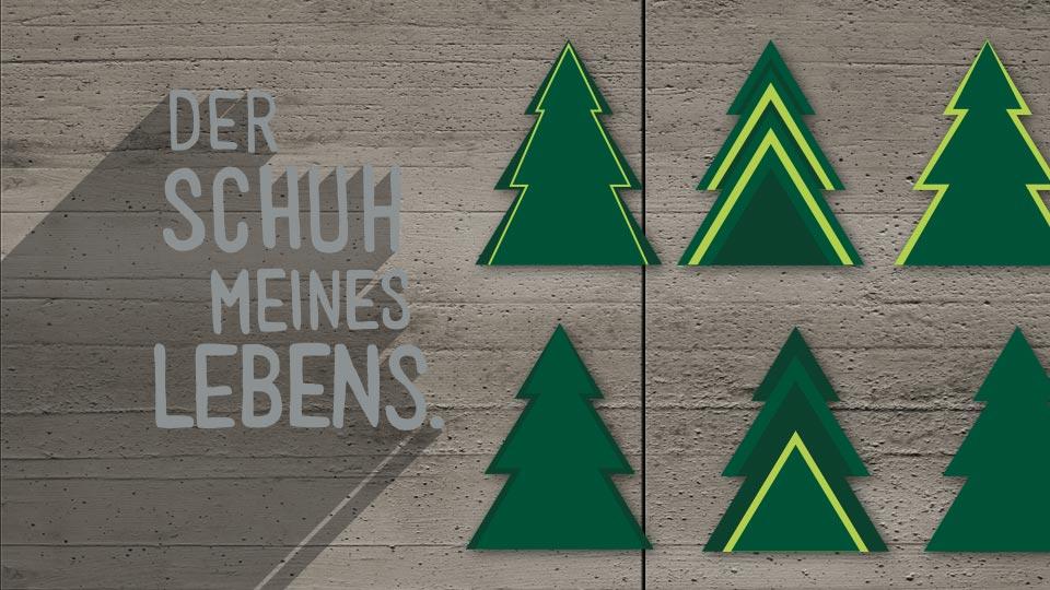 Paul Green Weihnachtskarte