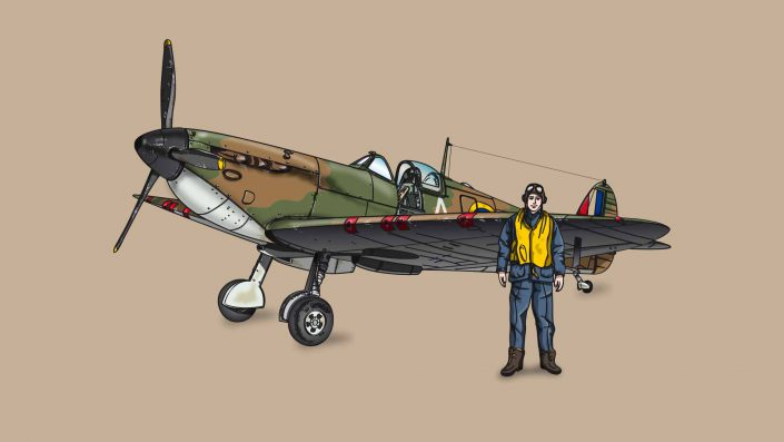 Supermarine Spitfire Mk. II Illustration