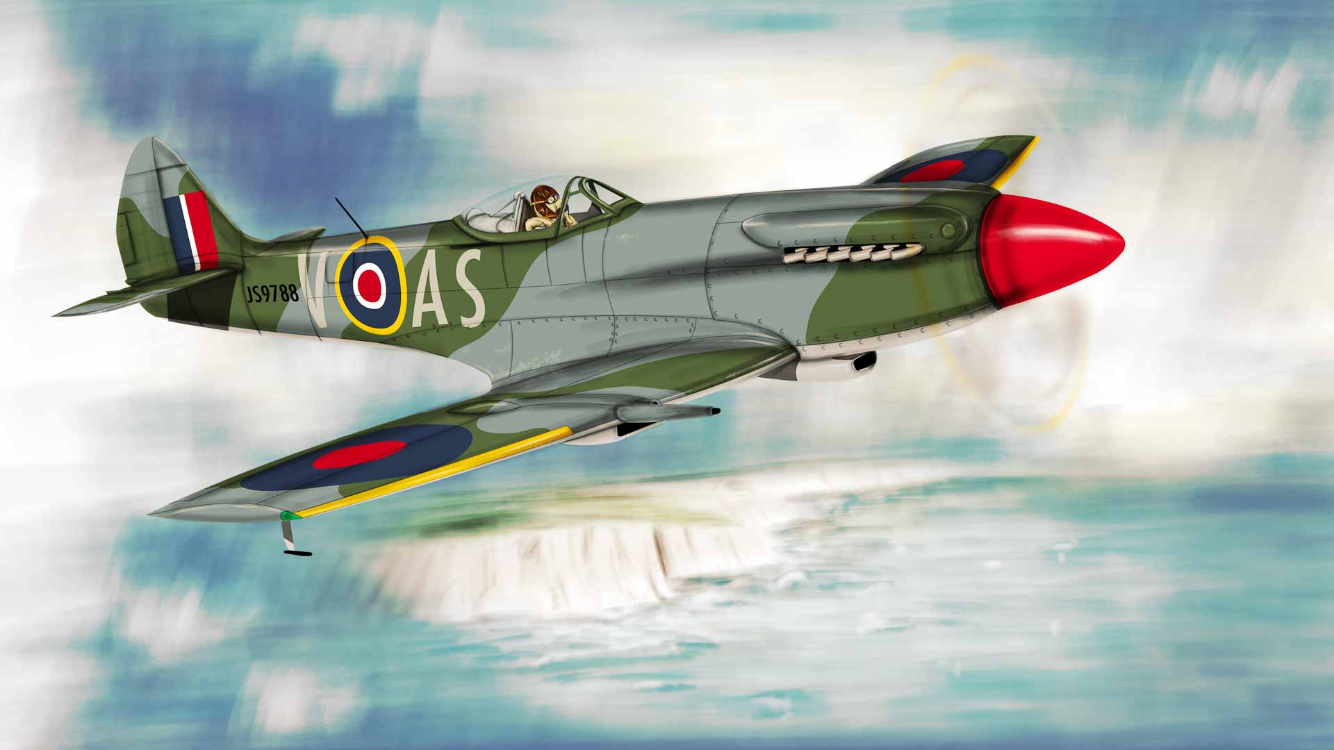 Supermarine Spitfire Mk. XIV Illustration