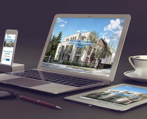 STAR Immobilien Webdesign