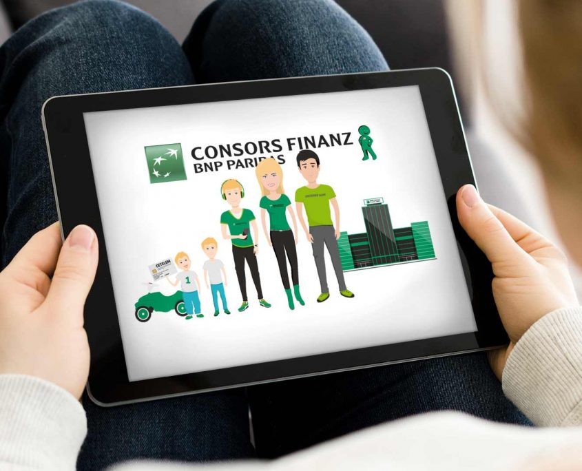 Consors Finanz History Infofilm