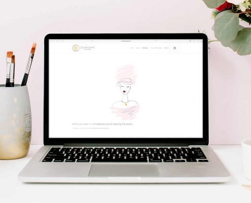 J'aimestones® fine art jewellery Webdesign