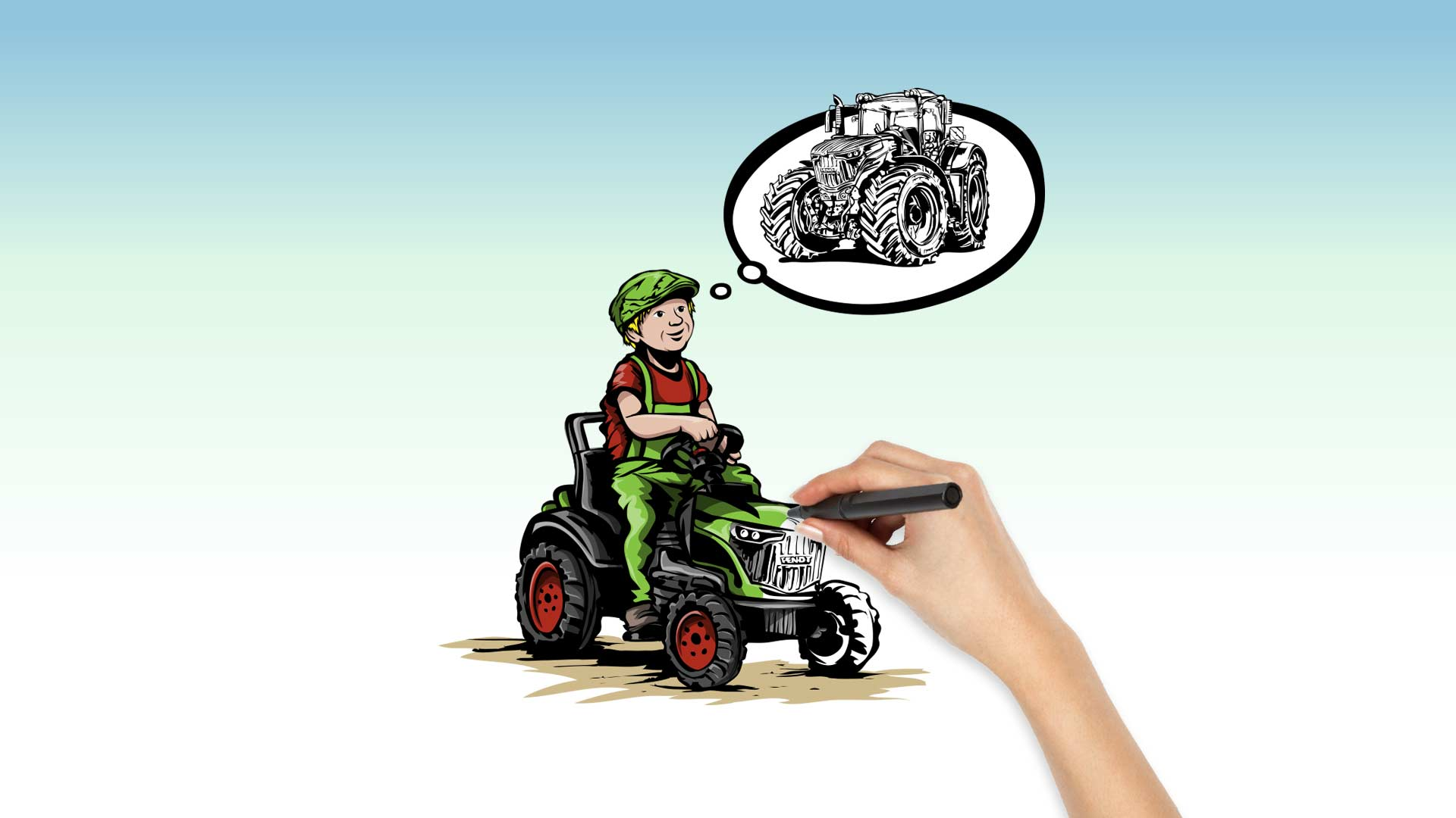Illustration Fendt Vario 1050