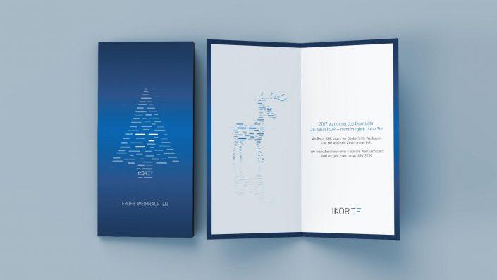 IKOR AG Weihnachtskarte 2017