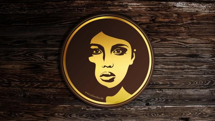 Jolandas Vinothek Logo Design