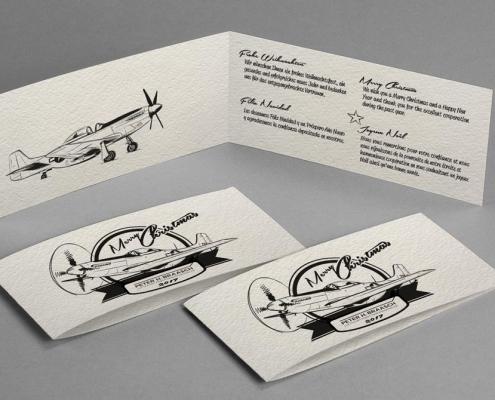 Braasch Luftfahrtversicherungsmakler Weihnachtsdesign