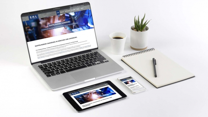 EKL Metallbau GmbH Responsive Webdesign