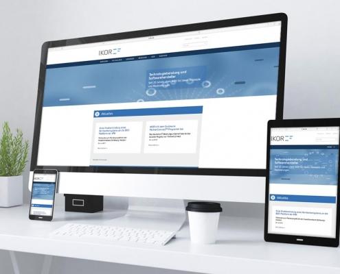 IKOR AG Webdesign