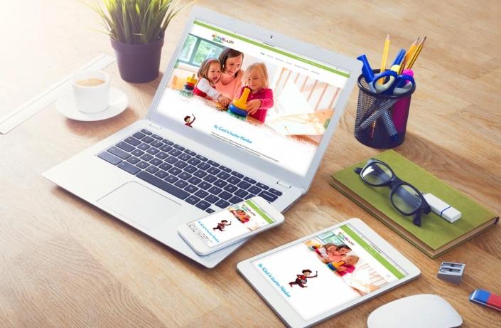 Kinderland Erding Webdesign