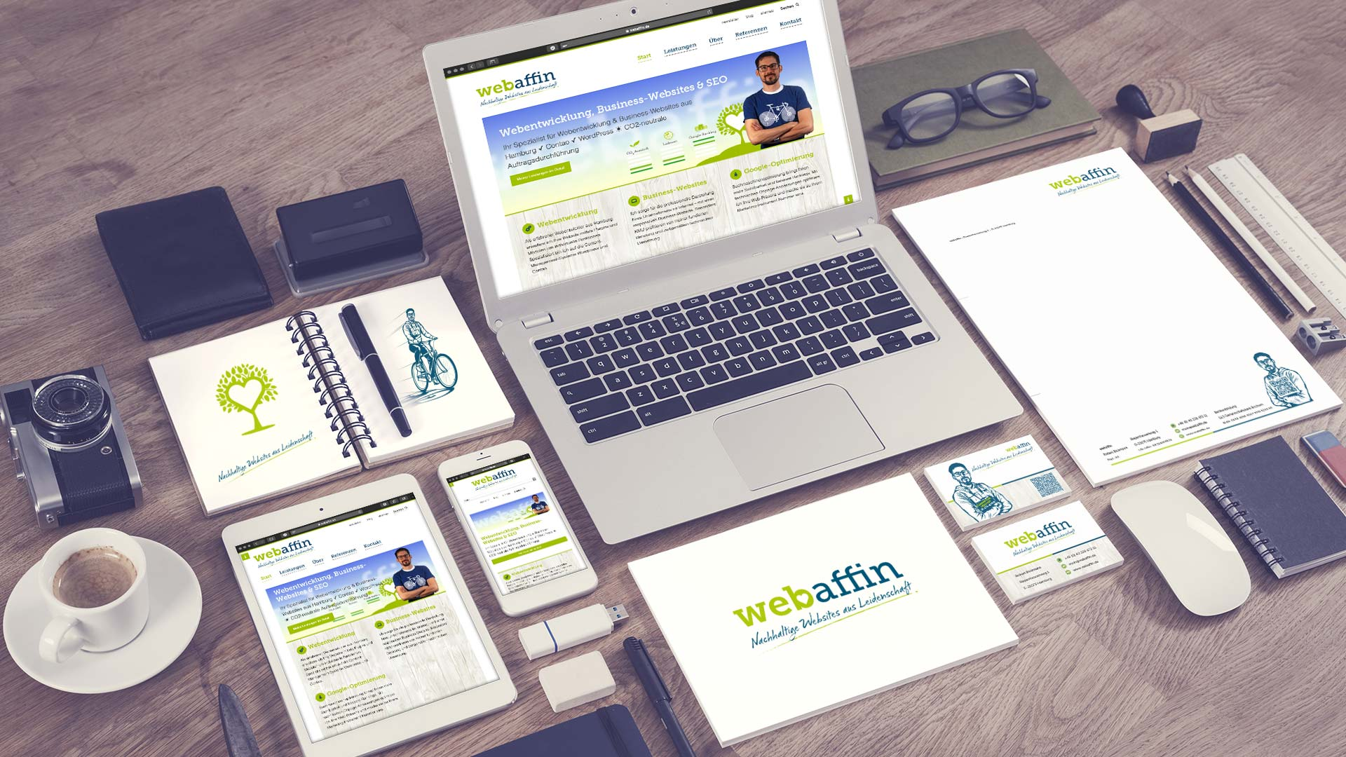 webaffin Corporate Design