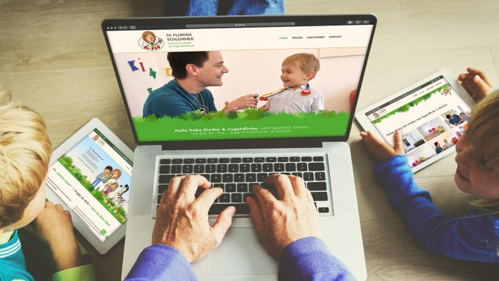 Dr Flo Responsive Webdesign