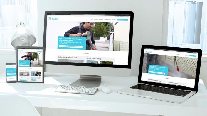 Fassadenreinigung Daniel Webdesign