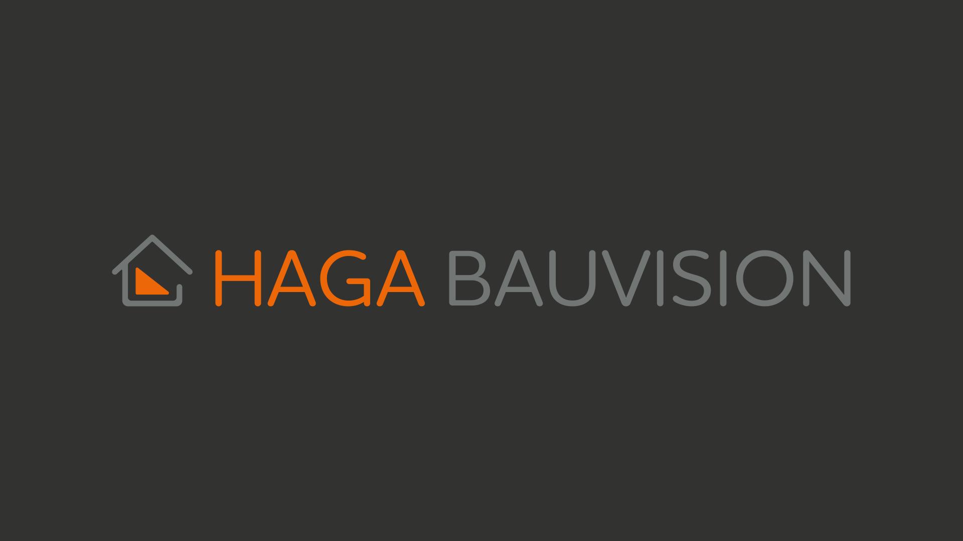 HAGA BAUVISION GbR Logo Design
