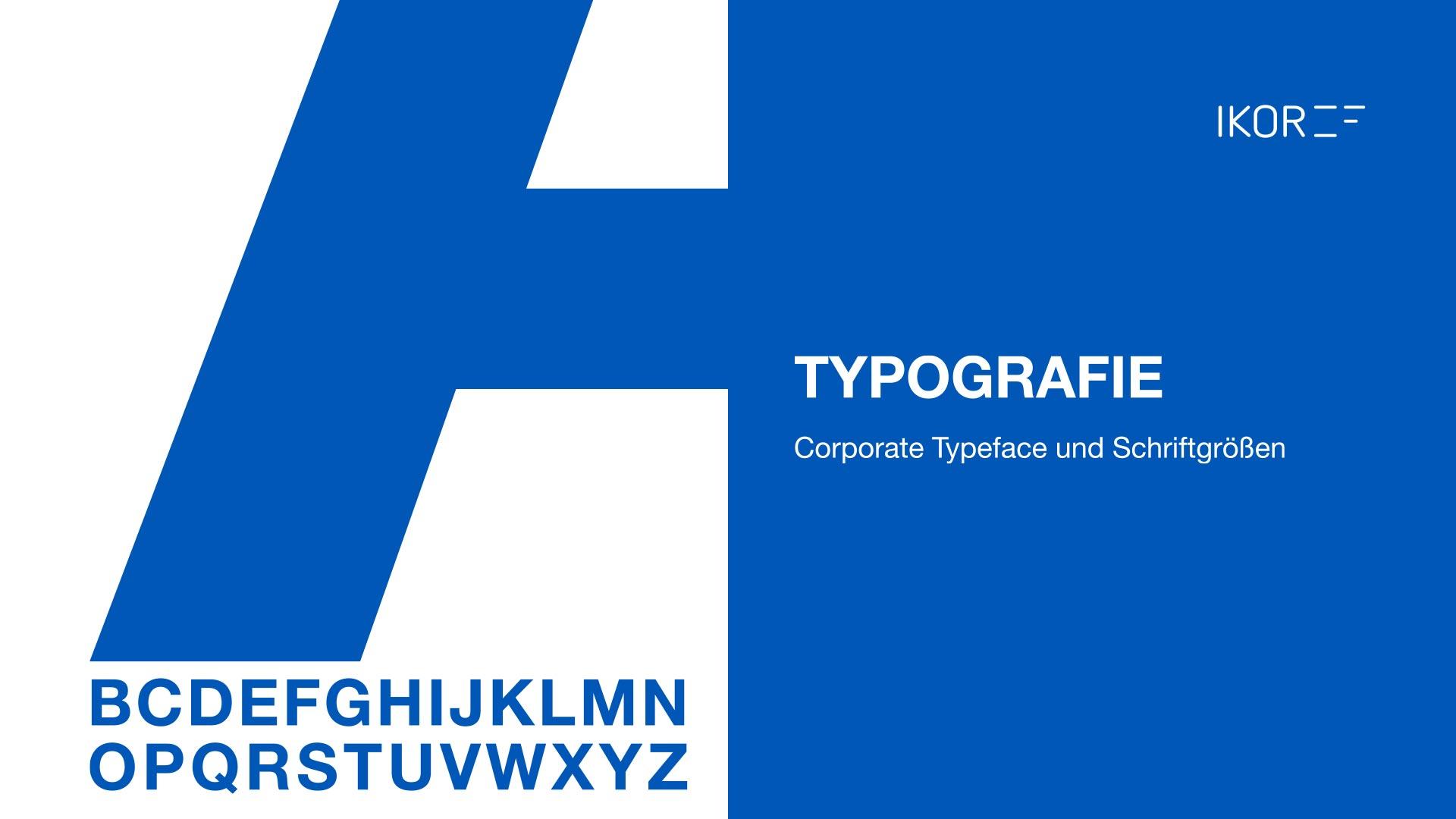 IKOR Corporate Design Schriften