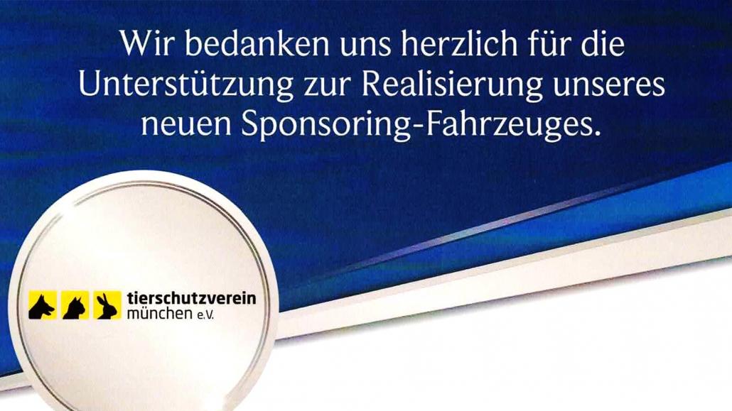 Sponsoring Tierheim München