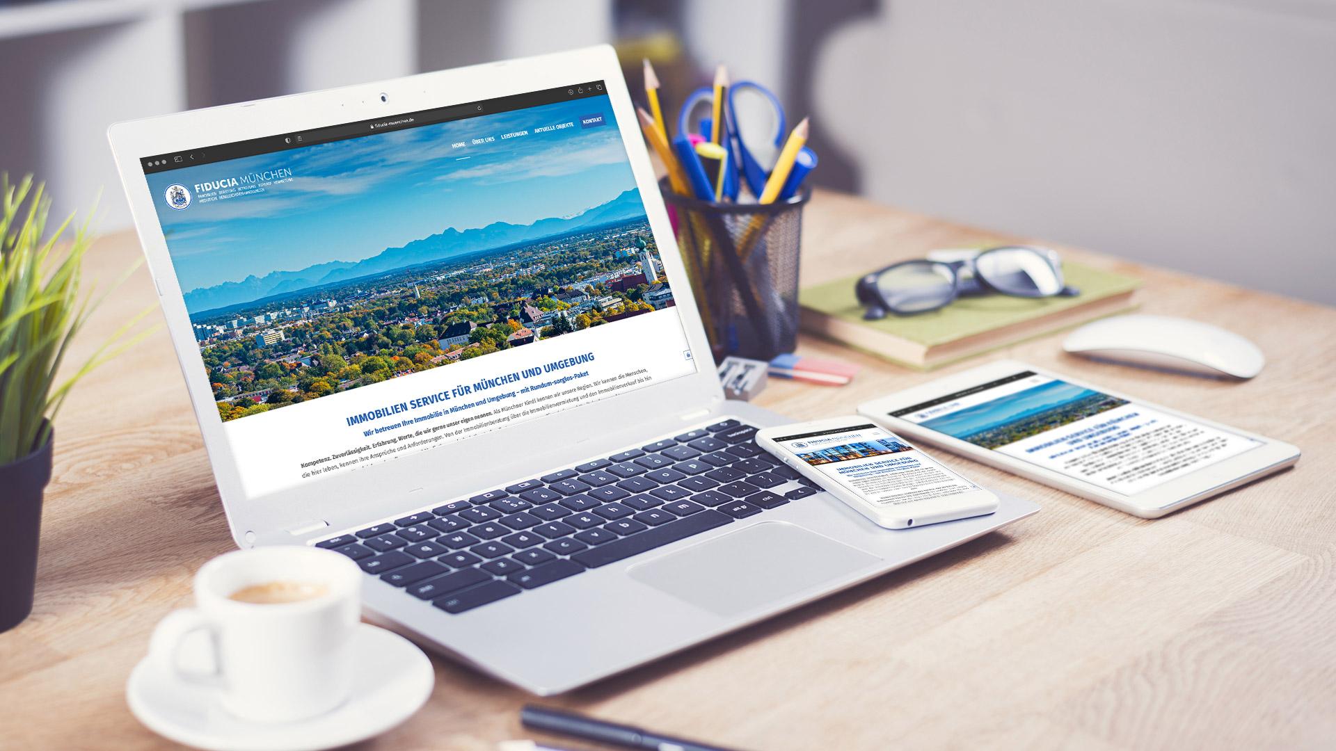 FIDUCIA München Webdesign