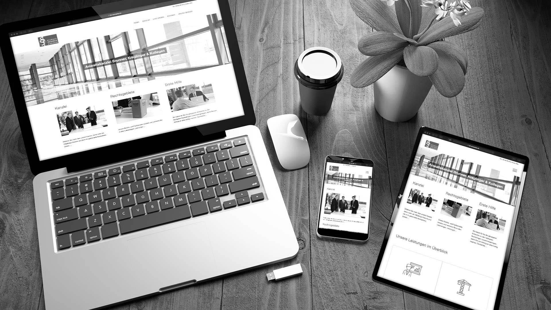 Anwaltskanzlei Webdesign & SEO