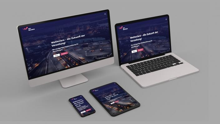WeDeclare Responsive Webdesign