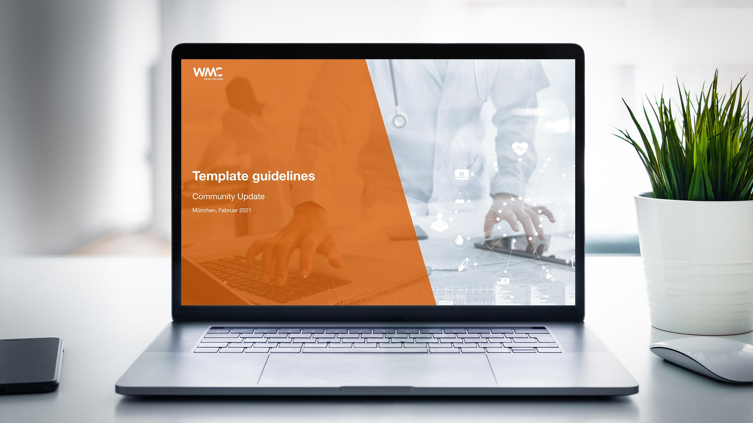 WMC HEALTHCARE PowerPoint Design